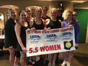 Women's 5.5 State Tennis Champions