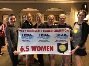 Adult Women's 6.5 State Tennis Champions