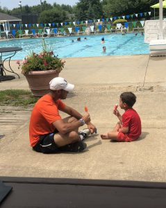 popsicles by the pool
