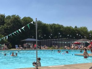 Summertime at the pool