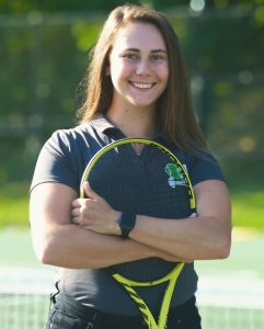 Katie Allan; tennis staff