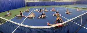 teen yoga class at Wembley