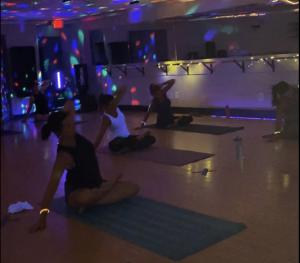BUTI GLOW yoga event at Wembley