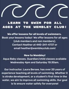 kid's swim lessons