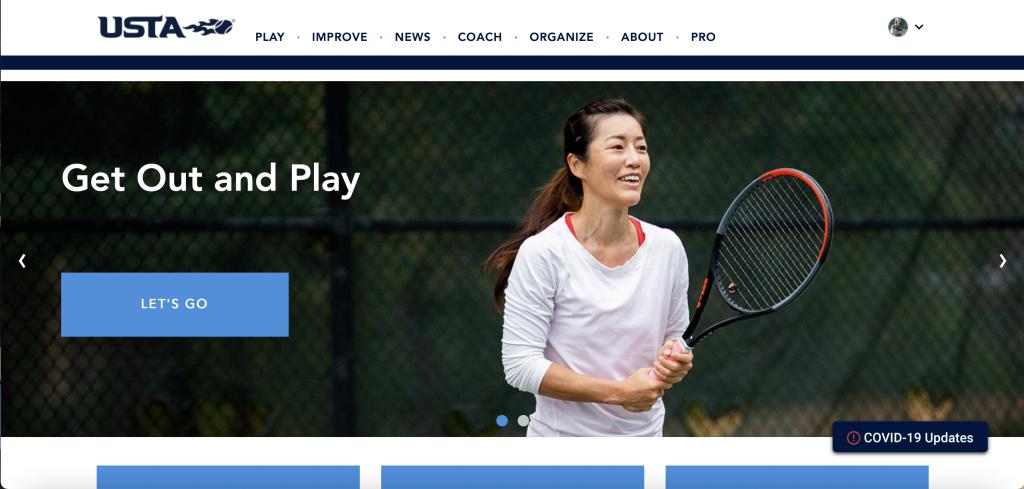 usta homepage