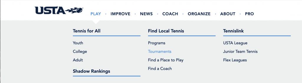 USTA Tournaments